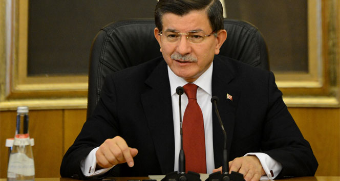 Başbakan Davutoğlu'ndan HDP'lilere sitem!