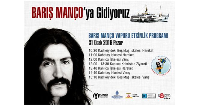 Barış Manço için çok özel anma programı