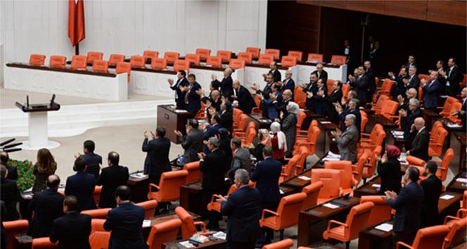 AK Parti'li ve MHP'lilerin ayakta alkışladığı konuşma