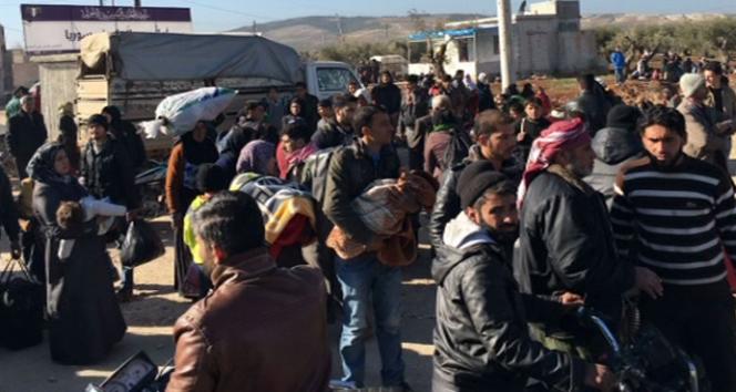 Sınıra büyük göç dalgası