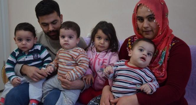 Üçüz bebek babası, Aziz Yıldırım'dan yardım istedi