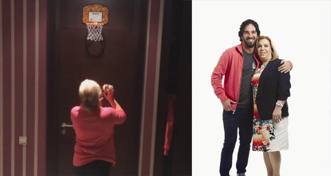 Arda'nın annesi basketçi çıktı