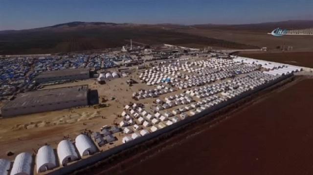 İşte sıfır noktasında kurulan çadır kent