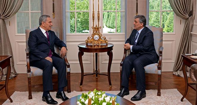 Abdullah Gül ve Bülent Arınç görüşmesi sona erdi!