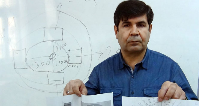 Aydın Karakuzu elektrik üreten proje tasarladı