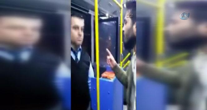 Türkmenler'e yardım toplayan otobüse çirkin saldırı