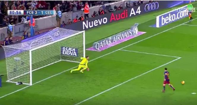 Messi'den efsane penaltı