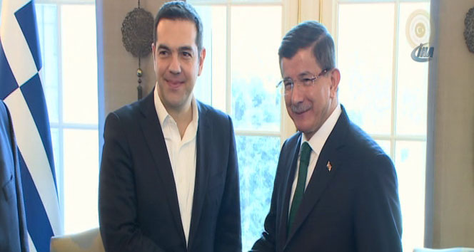 Çipras'tan Başbakan Davutoğlu'na Taziye telefonu!