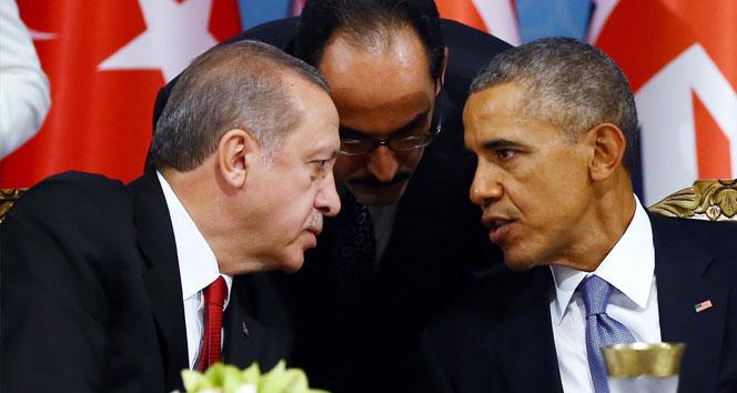 Erdoğan Obama'yla 'YPG'yi görüşecek