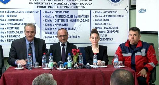 Türk doktorlar Kosova'ya çıkarma yaptı