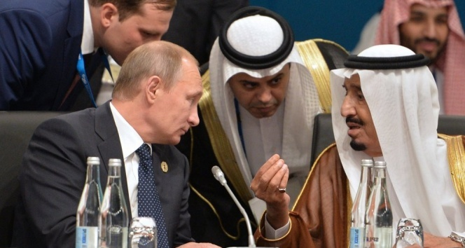 Putin ve Kral Selman, Suriye'deki ateşkesi görüştü