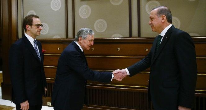 Erdoğan'dan Beştepe'de sürpriz kabul