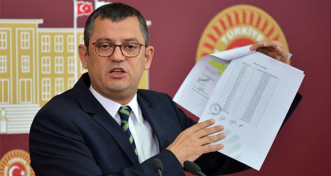 CHP'den yeni anayasa için ön şart