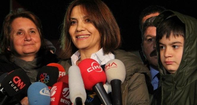Gül'ün eşi: 'İlk mahkemede çıkacağından umutluydu'