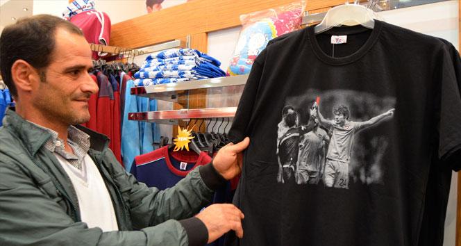 Salih Dursun tişörtlerine büyük ilgi