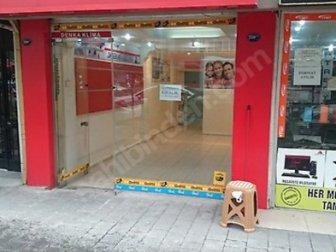 İzmir Üçyol semtinde iyi konumda Kiralık Dükkan
