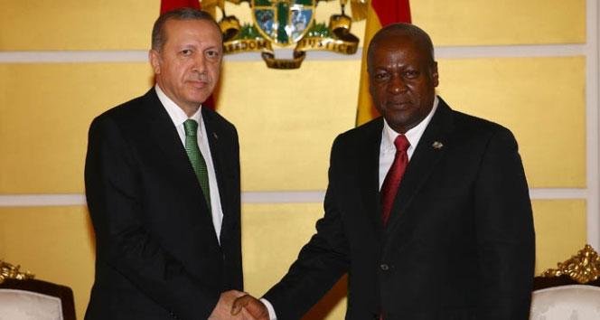 Türkiye ile Gana arasında 4 anlaşma imzalandı