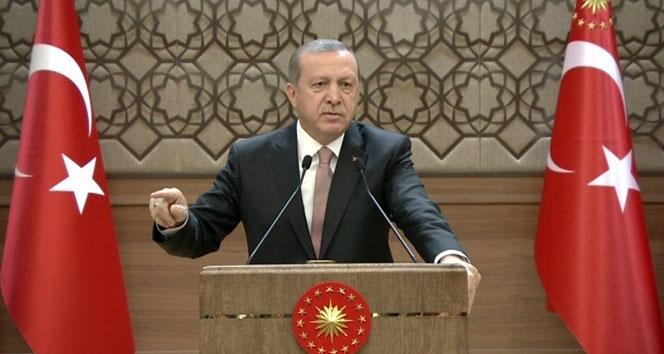 Erdoğan: 'Hep birlikte lanetlemek durumundayız'