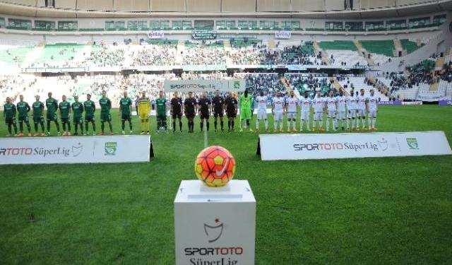 Bursaspor'da 'Timsah Arena' uğuru