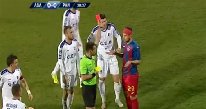 Romanya'da tarihi maç