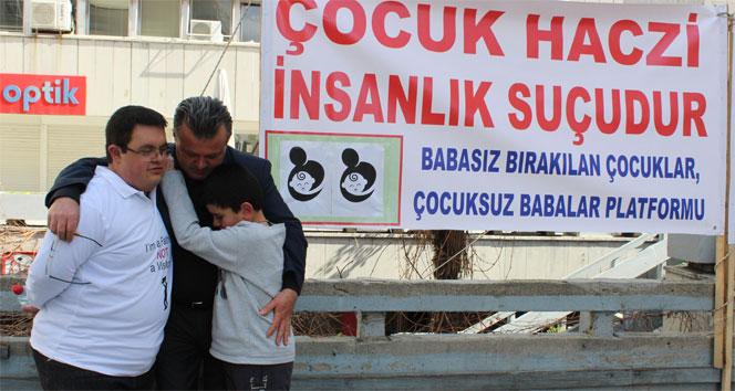 Çocuklarını haczeden babalardan 'mağduriyet birliği'