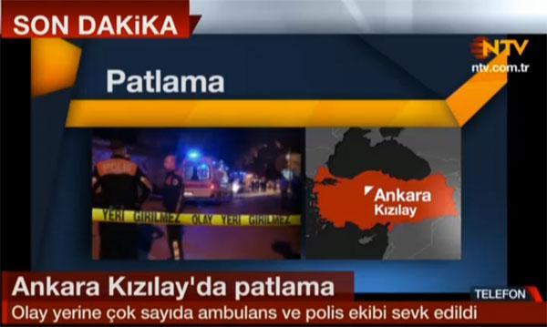 Ankara patlamasında ölü sayısı