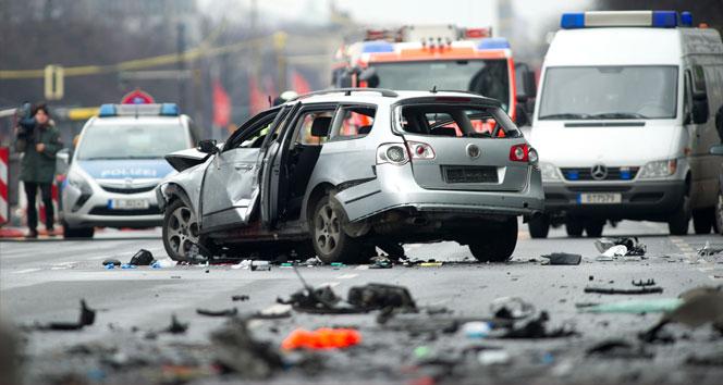 Almanya'nın başkenti Berlin'de Bombalı saldırı!
