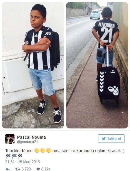 Pascal Nouma'dan Gomez'e gönderme