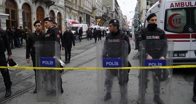 İstiklal Caddesi'nde yoğun güvenlik önlemi