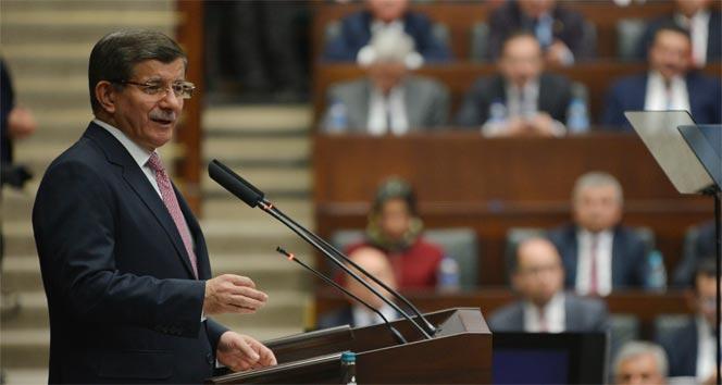 Davutoğlu'ndan CHP ve HDP'ye tepki