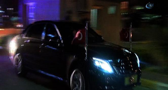 Erdoğan'dan dünürüne ziyaret!