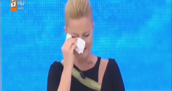 Müge Anlı gözyaşlarını tutamadı
