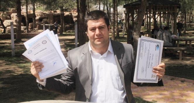 23 ayrı kurumdan sertifika aldı AMA...