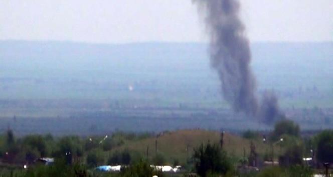 Savaş uçakları, IŞİD'i vuruyor!