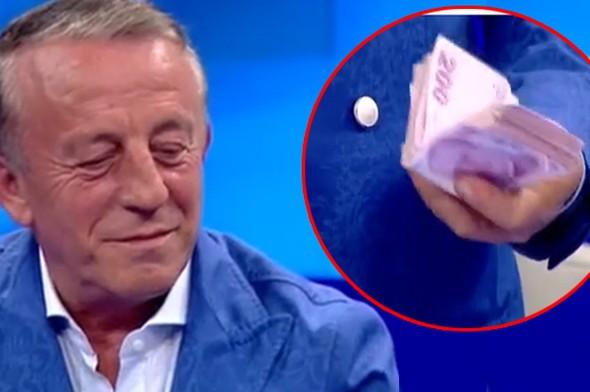 Ali Ağaoğlu kredi kartı limitini açıkladı