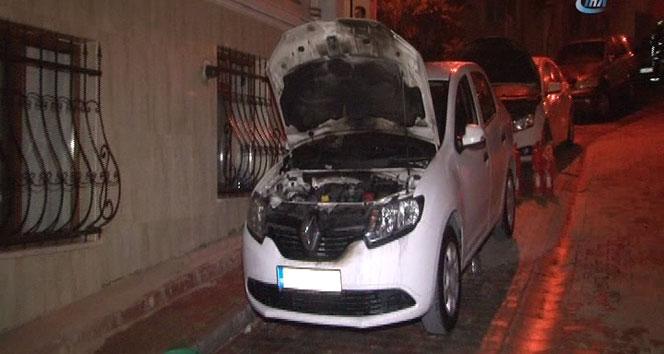 İstanbul'da 7 araç kundaklandı