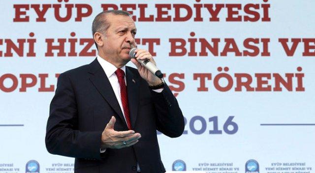 Eyüp Sultan'da Erdoğan'ı kızdıran olay