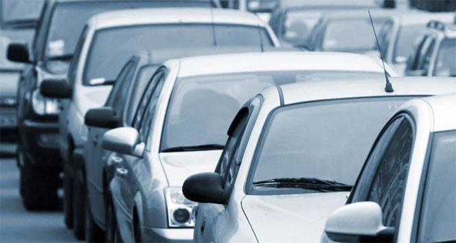 Trafiğe kayıtlı araç sayısı açıklandı