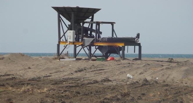 Durusu'da demir madeni bulundu