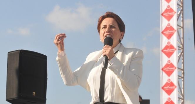 Akşener: 'Türk milletinin umudu biziz' dedi