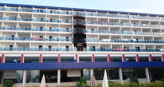 Alanya'da 5 yıldızlı otelde yangın