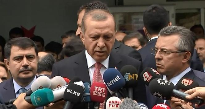 Saldırı sonrası Erdoğan'dan ilk açıklama!