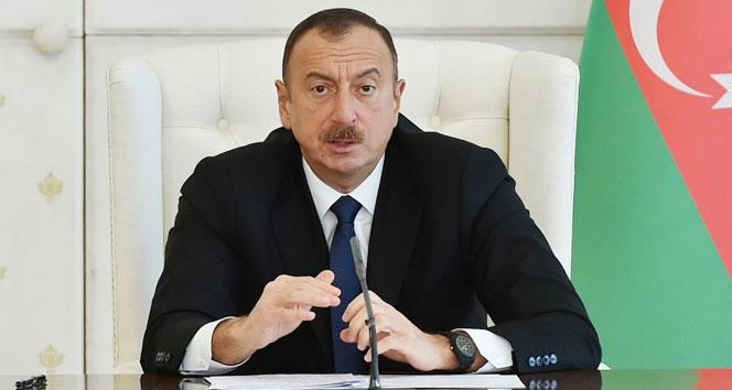 Aliyev'den Türkiye'ye taziye mesajı
