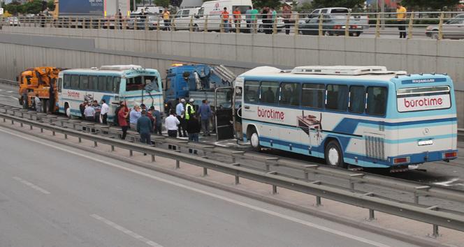 Son dakika : Konya'da korkunç kaza ! 36 Yaralı var