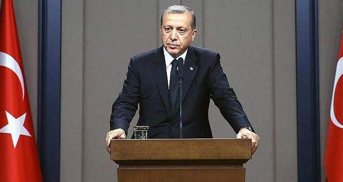Erdoğan CHP'den gelen eleştirilere cevap verdi