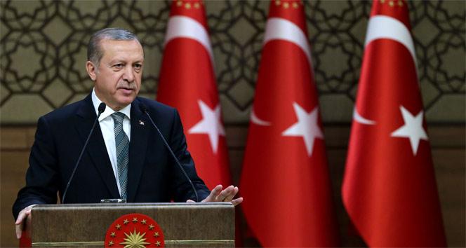 Erdoğan'dan Türk Kızılayı'na kutlama mesajı