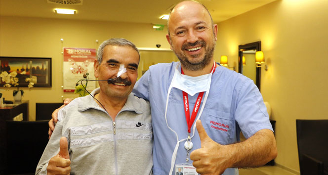 Karaciğerinden kiloluk tümör çıktı!