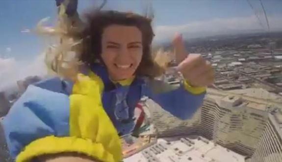 Sarıoğlu'nun eşi 118.kattan atladı!
