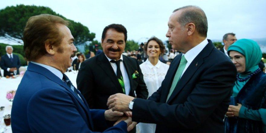 Cumhurbaşkanı Erdoğan Orhan Gencebay'ı kabul etti