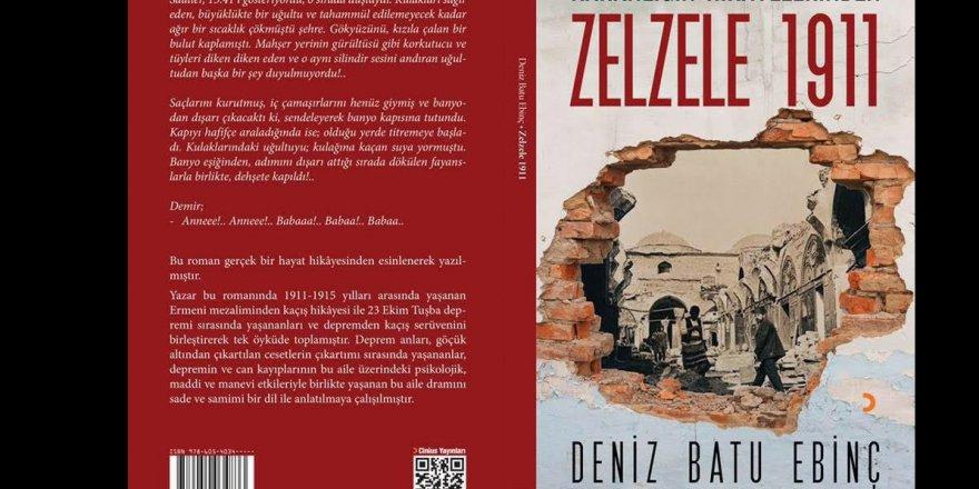 Karanlığın hikayelerinden ''Zelzele 1911'' kitabı çıktı